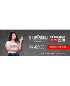 Convite Ouro Pré Congresso Mezzo 2020