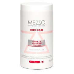 CREME DE  MASSAGEM CORPORAL - BODY CARE - MEZZO