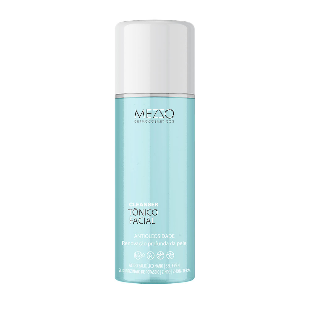 Tônico facial Cleanser Mezzo   Loja Mezzo Dermocosméticos