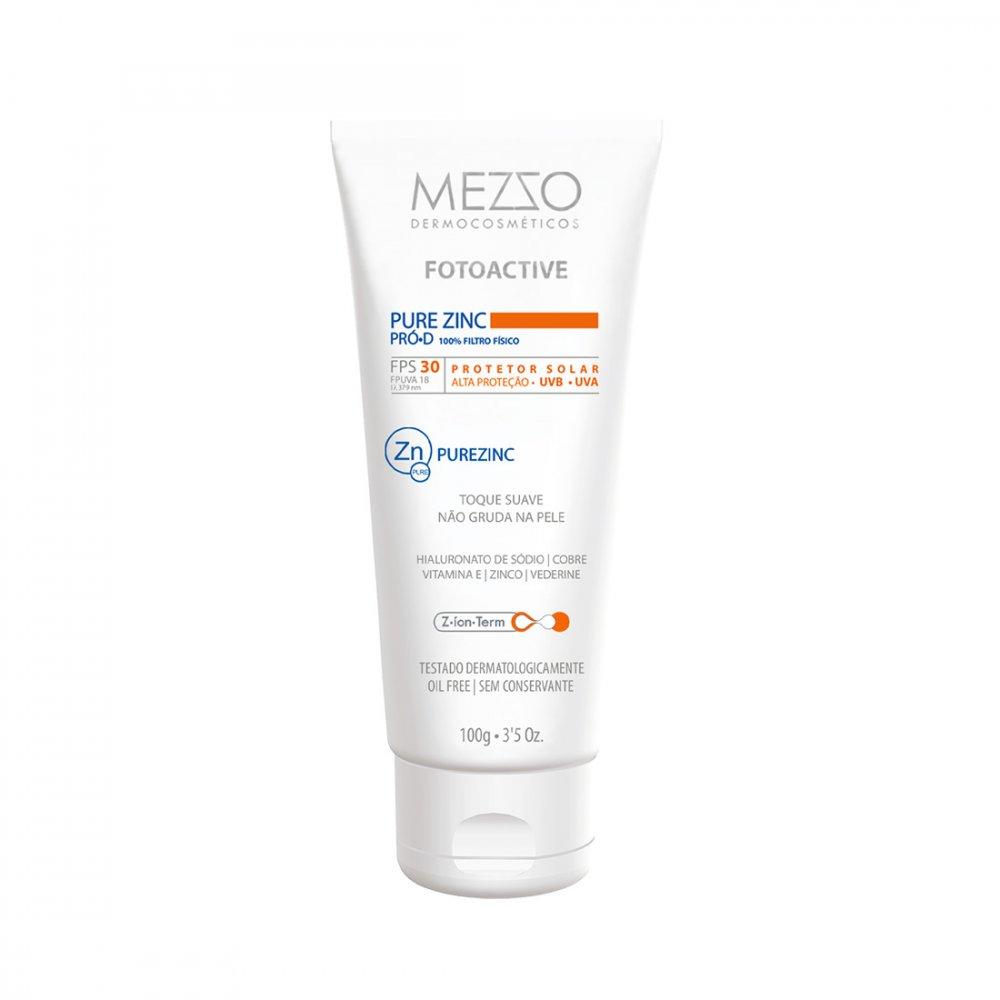 Filtro Solar Facial Pure Zinc Mezzo   loja Mezzo Dermocosméticos