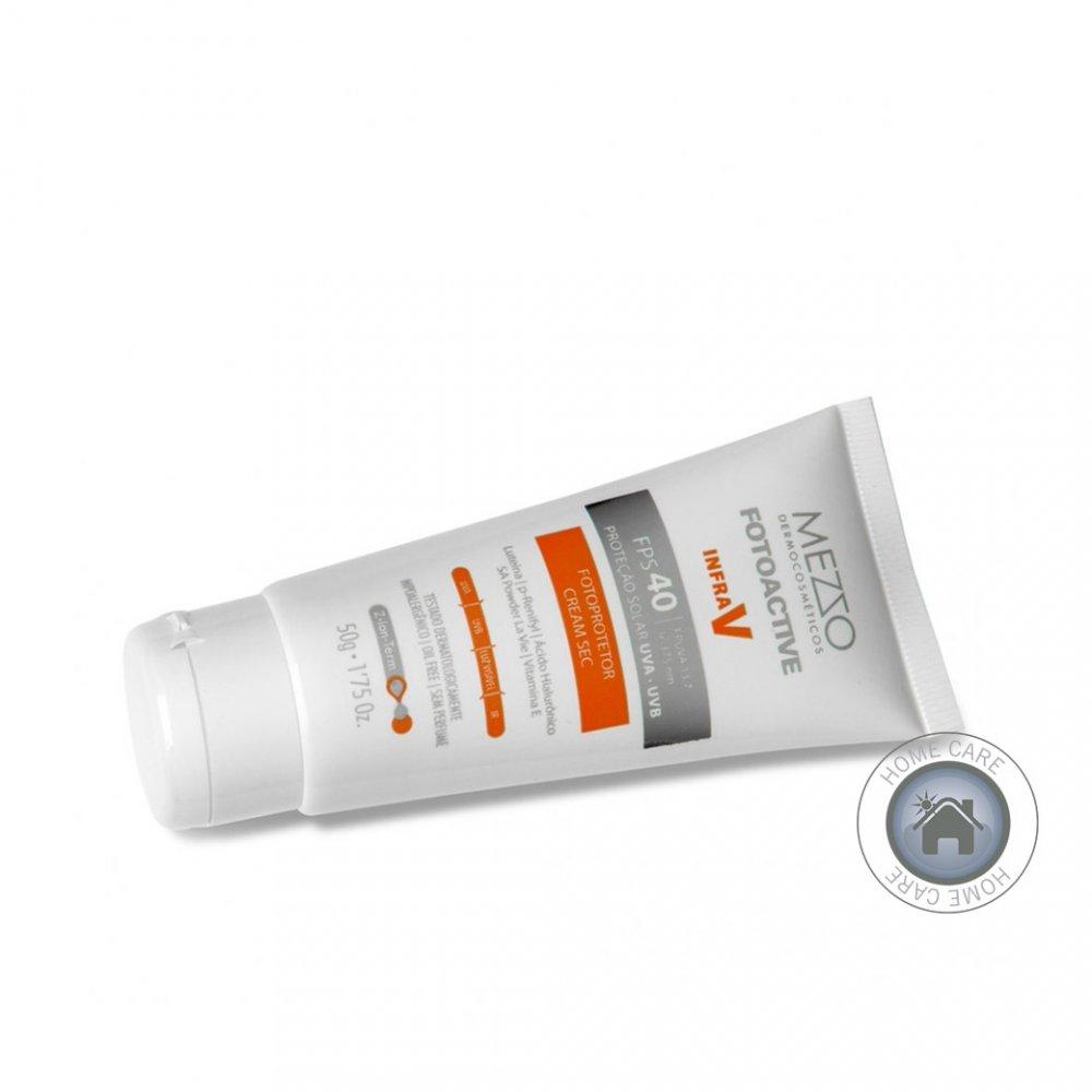 Filtro Solar Facial Cream Sec FPS 40 Mezzo
