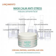 Máscara Facial Calmante Anti-Stress Mezzo